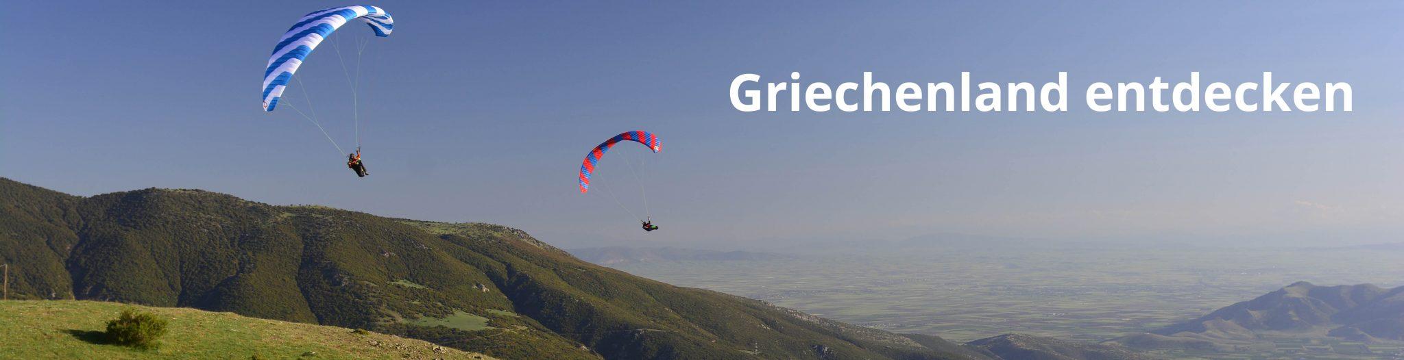 Gleitschirmflugreise Griechenland