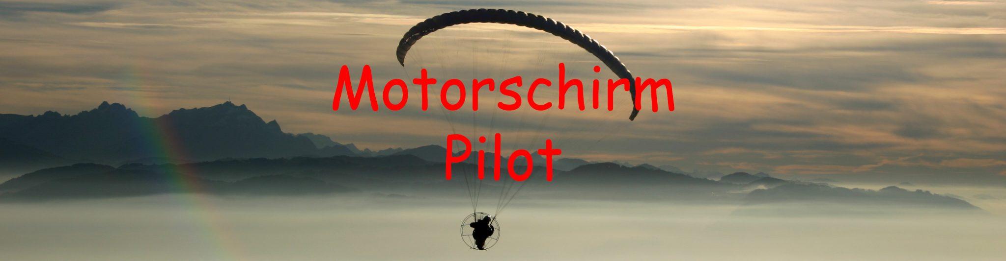 Motorschirmpilot