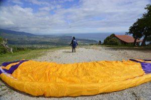 Paragliding Startplatz Profitis Elijah in Griechenland