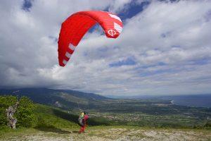 Paragliding Takeoff Profitis Elijah in Greece
